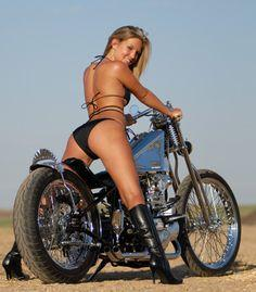 My first pin onto this board. Who's better in your opinion - babe or bike? #bikes #babes