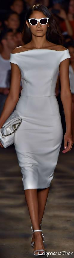 Christian Siriano Spring Summer 2015 Ready-To-Wear: Christiansiriano Spring2015, Womens Fashion, Little White Dress, 2015 Ready, Siriano 2015, Spring 2015, Christian Siriano, Spring Summer 2015, 2015 Rtw
