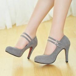 How adorable!!! These would be super cute in black or red too! I would really love to have these in my closet... (: