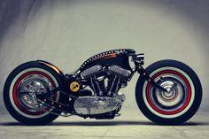 50's Hot Rod Harley Davidson Sportster Custom by Art of Racer