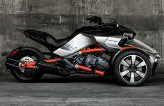 Can-Am's latest three-wheeler motorcycle to hit the market is the Can-Am Spyder F3 ($19,500), a three cylinder motorcycle that will look to make riding this fall a lot of fun. Along with a top speed of 115 MPH, the Spyder F3 boasts Can-Am's signat