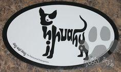Euro Style Chihuahua Dog Breed Magnet http://doggystylegifts.com/products/euro-style-chihuahua-dog-breed-magnet