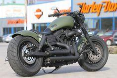 Harley-Davidson Fat Bob by Thunderbike Customs. motorcycle, motorcycles, rider, ride, bike, bikes, speed, cafe racer, cafe racers, open road, motorbikes, motorbike, sportster, cycles, cycle, standard, sport, standard naked, hogs, hog #motorcycle