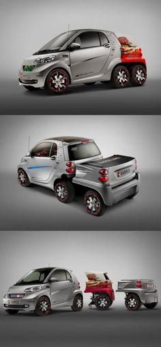 Smart car is small and agile This make smart car better? Lol