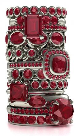 Every girl's dream - A stack o f rubies :)