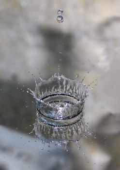 a crown of a drop, made of plastic.  Why can't I find one?