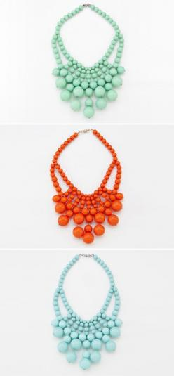 chunky necklaces on this website  www.walkerboutique.com