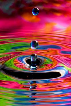 Colorful ripples http://linkreaction.com.au/index.php/nutrition-news/entry/eating-for-health-and-beauty-1