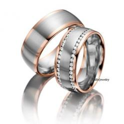 Hey, I found this really awesome Etsy listing at http://www.etsy.com/listing/174671329/his-hers-mens-womens-matching-14k-white: Gold Wedding Bands, Gold Weddings, Matching Wedding Bands, Mens Rose Gold Wedding Band, Bands Rings, Wedding Band Rings, Rose G