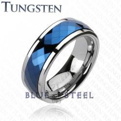https://www.bkgjewelry.com/sapphire-pin-brooch/971-18k-yellow-gold-diamond-blue-sapphire-bee-brooch.html Tungsten mens ring from Blue Steel.