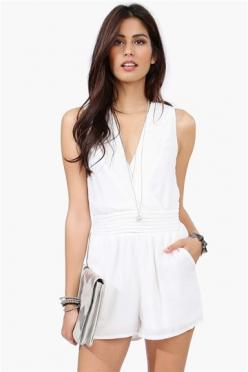 Paradise Romper - Off White