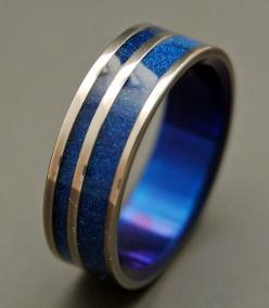 All is Well. $250.00, via Etsy. This is my star trek inspired wedding band that I want!