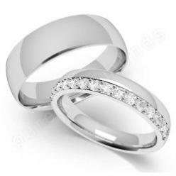 His and Hers Wedding Bands   his and hers wedding ring sets not only offer the convenience of ...