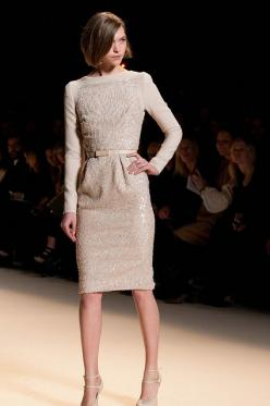 Elie Saab 2012/2013: Elie Saab, Fashion Style, Hair Cut, Fall 2012, Will Be In 2012, Futuristic Hairstyle, Futuristic Dress, Sheath Dresses