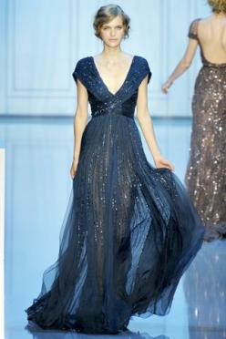 Elie Saab Fall 2011 Runway Couture-I am obsessed with some of the dresses he created for this show!