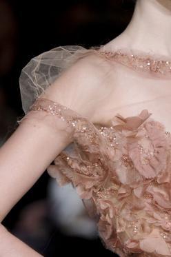Elie Saab, i would love to see designer dresses up close, just to see the detail work!
