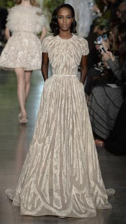 Elie Saab Spring/Summer 2015 Haute Couture via @stylelist | http://aol.it/1FjOYJb