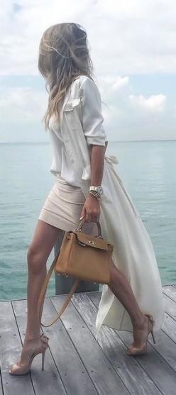 Neutrals are so classy!: Dress, Business Attire, Office Wear, Pencil Skirts, Work Outfits, Office Outfits, Business Casual
