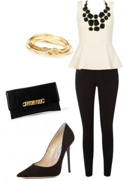 """""""Black and White"""" by dyanna85 on Polyvore"""