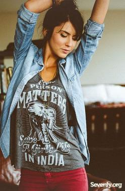 Sevenly! Tshirts for charitable causes. A new charity every week.