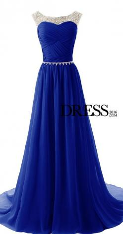 $159--Royal Blue Prom Dresses V-neck Backless Full Lace Sleeveless Floor Length Sexy Evening Gowns: Evening Dresses, Sexy, Blue, Prom Dresses, Promdress
