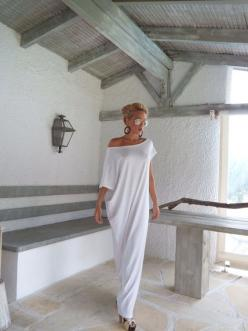 Hey, I found this really awesome Etsy listing at https://www.etsy.com/listing/203719140/white-maxi-dress-white-kaftan-asymmetric