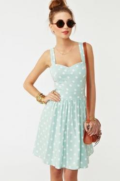 adorable for summer!: Polka Dots, Summer Dress, Style, Polka Dot Dresses, Polkadots, Pattie Dress