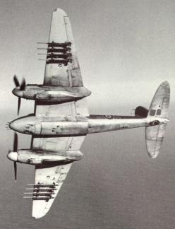 Dehavilland Mosquito, figter bomber. 400mph, 4*.303 machine guns, 4*20mm cannon, 8*60mm rockets. and sometimes bombs as well. Not bad for a flying piano.: Mosquito Aircraft, Military Aircraft, Finest Aircraft, Airplanes, Wood, England Aircraft Mosquito, A
