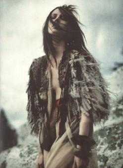 I  wish there was a word between like and love.: Wild, Girl, Editorial, Style, Fur, Boho, Fashion Photography, Gypsy, Bohemian