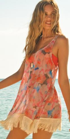 L*Space 2014 Threads Kuta Bay Cover-Up: Cover Up, Style, Dress, Bays, Kuta Bay, L Space, Summer, Lspace, Bay Coverup