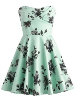 Mint rose dress: Mint Green, Rose Dress, Style, Dream Closet, Dresses, Green Dress, Vintage Roses