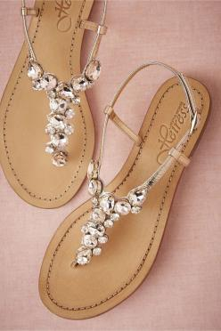 Sandals in Shoes  Accessories Shoes: Shoess, Demure Sandals, Jeweled Sandal, Sparkle Sandals, Cute Sandals, Beach Wedding