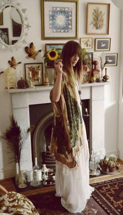 Somethin Somethin...Yet another example of ready to PLUS UP <3....MJA: Bohemian Outfit, Waiste Somethin, Hippie Style, Gypsy Girl, Boho, Hippie Chick, Somethin Somethin