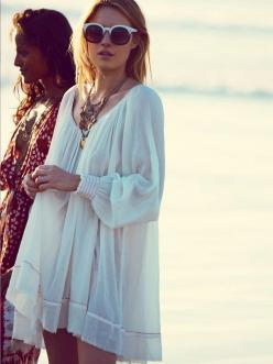 THE CASUAL, THE DRESSY, THE COOL - They All Hate Us: Boho Chic, Fashion, Style, Freepeople, Dresses, Free People, Beach