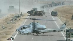 USMC AH-1 Cobra at improvised forward resupply base, near Huntash, Iraq, 2003: Marine, Military Planes, Attack Helicopters, Aircraft, Military Helicopters, Posts, War Planes, Photo