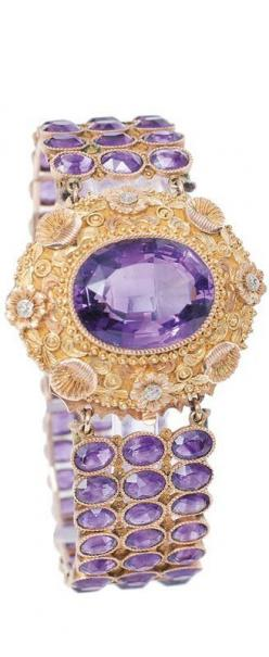 Gorgeous Amethyst Bracelet #slimmingbodyshapers   How to accessorize your look Go to slimmingbodyshapers.com  for plus size shapewear and bras