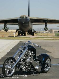 Custom motorcycle built around an airplane engine, cool bike, would like to find out how it rides.: Motorbikes, Cars Motorcycles, Motorcycle Built, Custom Motorcycles, Chopper, Cars Bikes, Custom Bikes, Radial Engine