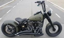 flat green and black bobber. Ape hanger handle bars.. CLICK the PICTURE or check out my BLOG for more: http://automobilevehiclequotes.tumblr.com/#1506291209