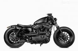 I usually don't like Harley's because most of them a too annoyingly loud. But I would rattle homes with this Sportster.