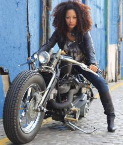 There's just something about a woman on a big bike: Motorbike Girl, Cars Motorcycles, Biker Chick, Biker Girl, Custom Motorcycles, Sexy Girl, Custom Bike, Biker Queen