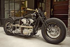 There's a wonderfully gothic, Victorian vibe to the latest machine from Taiwan's Rough Crafts. It's built around an S Harley Knucklehead motor, using a kit from legendary 'samurai chopper' builders Zero Engineering.