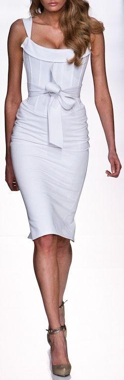 Alex Perry. Saving this outfit for either Sheffield Gardenwalk or old town art fair: Fashion, Style, Clothing, Dresses, Alex Perry, White Dress, Bow, Alex O'Loughlin