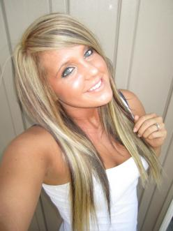 Blonde highlights and low lights. Think this might be my next hair color. Love it!: Hair Ideas, Hair Colors, Hairstyles, Hair Styles, Blonde Hair, Blonde Highlights, Hair Makeup, Hair Nails, Low Lights