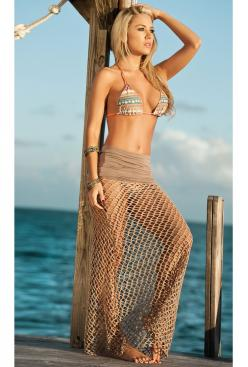 Closer Look Skirt: Cover Up, Beaches, Beach Wear, Skirts, Style, Coverup, Swimwear, Beach Skirt