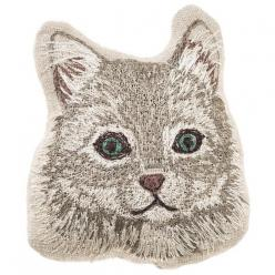 Coral and Tusk - siberian cat pal: Cats, Coral, Siberian Cat, Tusk Siberian, Cat Embroidered, Linen Pal, Cat Pal, Products