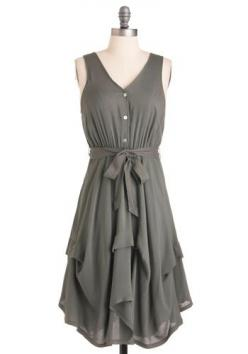 cute color dress: Summer Dress, Grits Dress, Ground Grits, Gray Dress, Style, Outfit, Grey Dresses
