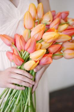 just want someone to buy me tulips..seriously my favorite.: Wedding Inspiration, Orange, Wedding Bouquets, Color, Garden, Photo, Favorite Flower