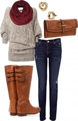 That shirt looks so comfy!: Sweater, Falloutfit, Style, Dream Closet, Fall Outfits, Winter Outfits, Fall Fashion, Fall Winter