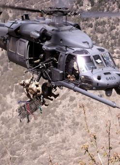USAF Pararescue - Blackhawk: Helicopter, Airforce, Hero, Special Forces, Air Force, Aircraft, Military Stuff, Photo