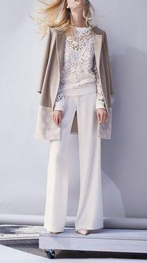 white on white: Style, Chelsea28 Coat, Chelsea28 Embroidered, Lace Pullover, Pullover Nordstrom, Embroidered Lace